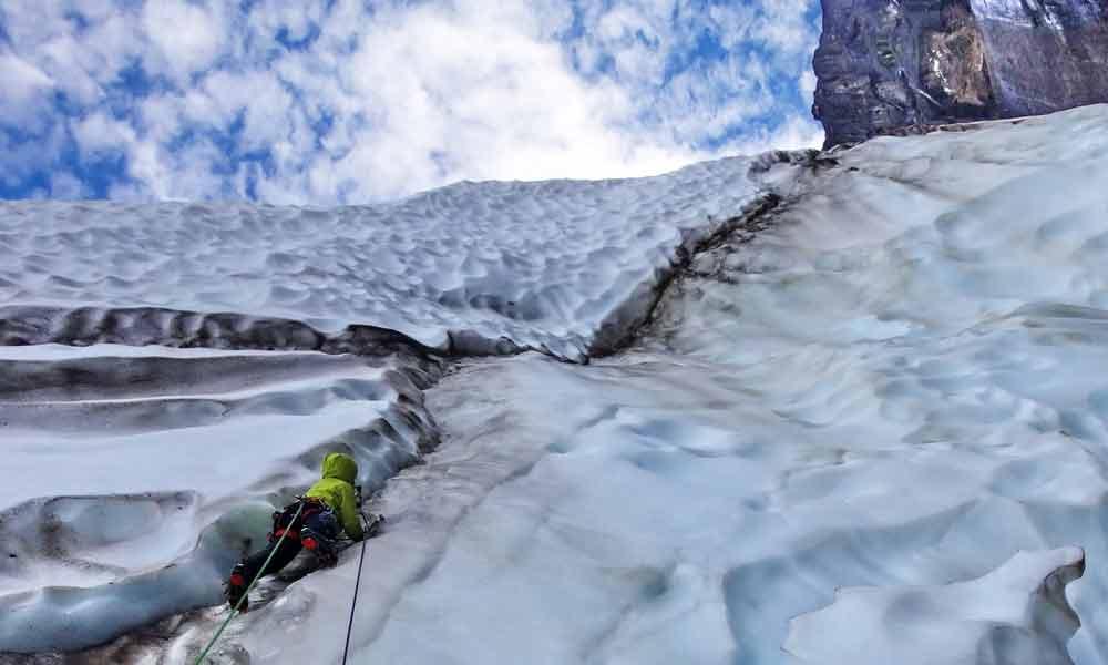 Erstbegehung in Grönland (Apostel Tommelfinger)