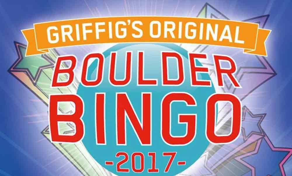 Boulderevent Bingo Griffbar in der Kletterhalle Uster