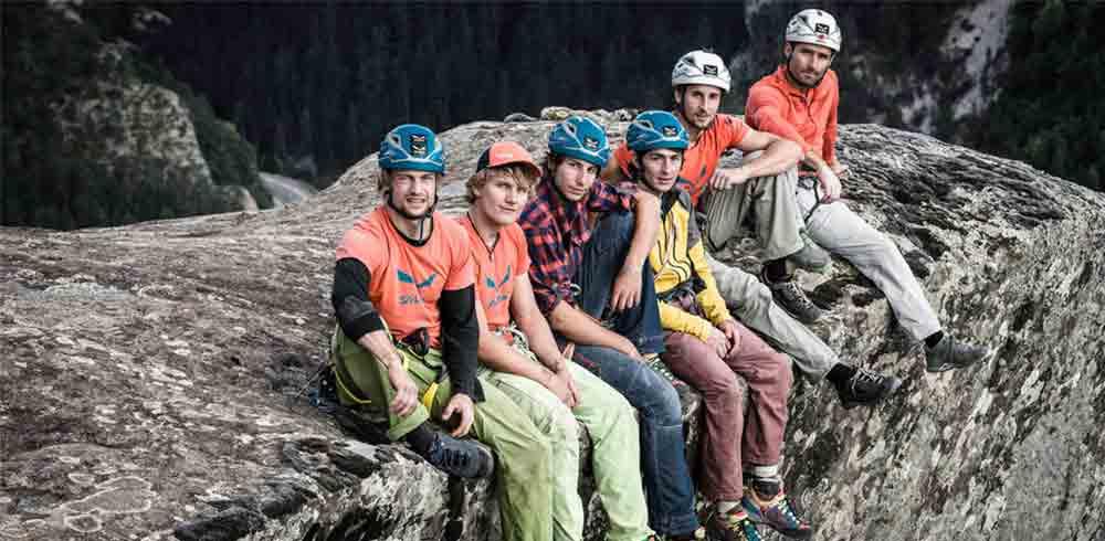 SAC expedition team