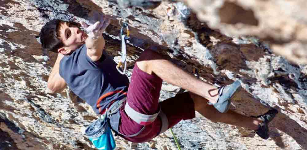 Piotr Schab in Santa Linya, Spanien