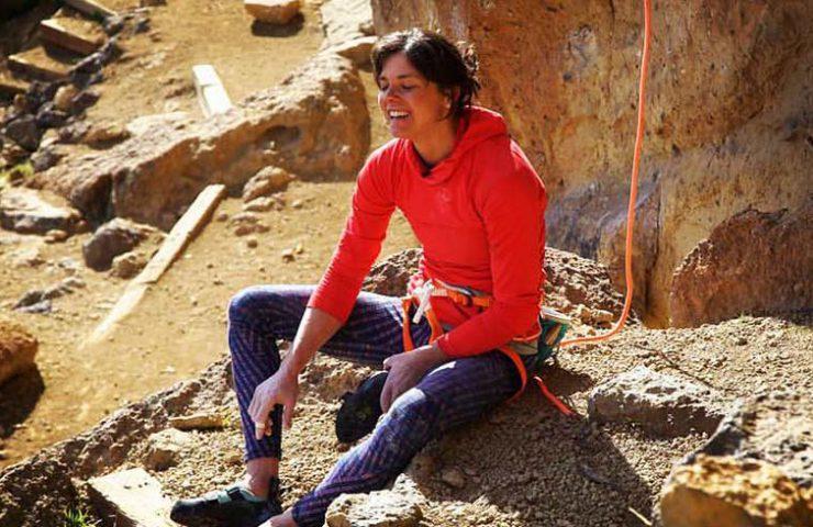 Nina Caprez nach der Begehung von To Bolt or Not to Be_Smith Rocks.jpg