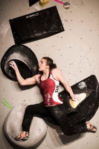 Weltmeisterin Petra Klingler startet am Boulder Weltcup in die Saison