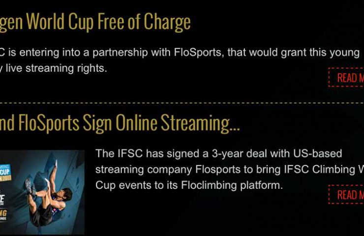 IFSC and Flowsport sign deal