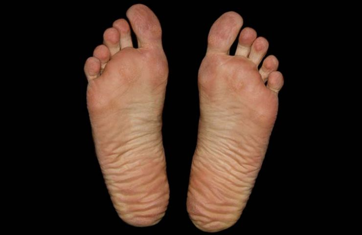 Barefoot climbing exercises workout