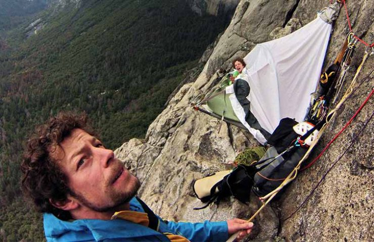 Silvan Schüpbach y Dimitri Vogt en el Muir Wall - Yosemite