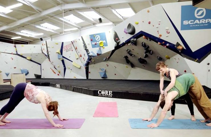 Yoga Warm Up Climbing - EpicTV