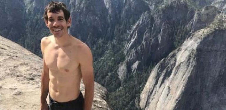 Alex Honnold klettert Freerider am El Capitan free solo