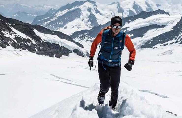 Nicolas Hojac - Récord de velocidad para Eiger, Mönch y Jungfrau