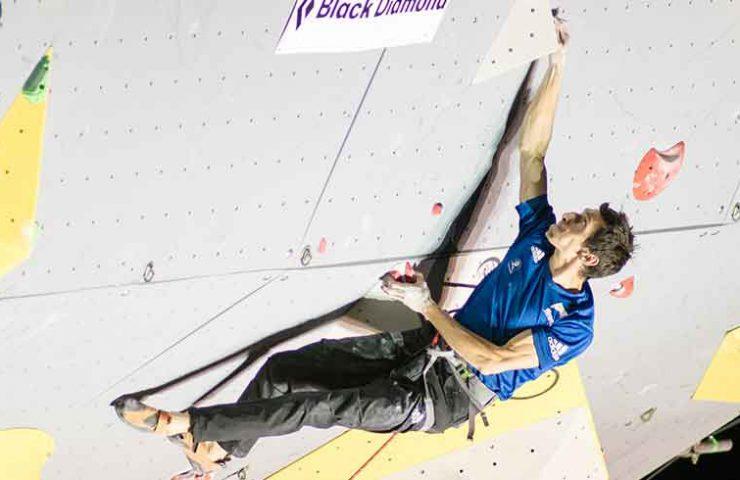 Romain Desgranges gewinnt Lead Wettkampf in Briancon - Frankreich