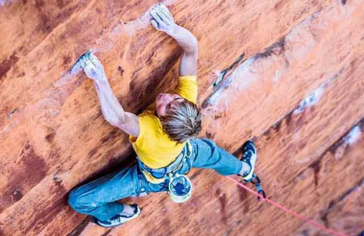 Alex Megos manages 8c + first ascent in South Africa