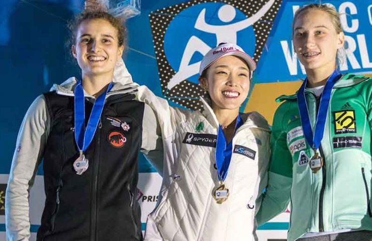 Anne Sophie Koller gewinnt Silbermedaille am Leadweltcup in Arco
