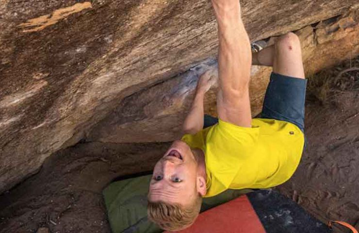 Jakob Schuberts unglaubliche Ticklist nach 17 Tagen Rocklands