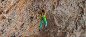 Interview mit Angela Eiter über die Begehung von La Planta de Shiva (9b)