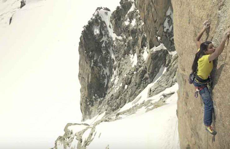Daila Ojeda climbs Digital Crack - one of the highest 8a's