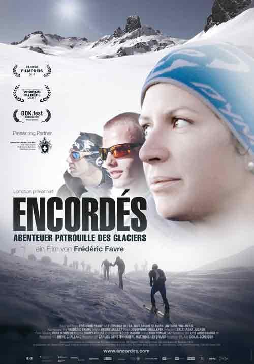 Film poster_Encordé - Patrol de Glacier - Frédéric Favre