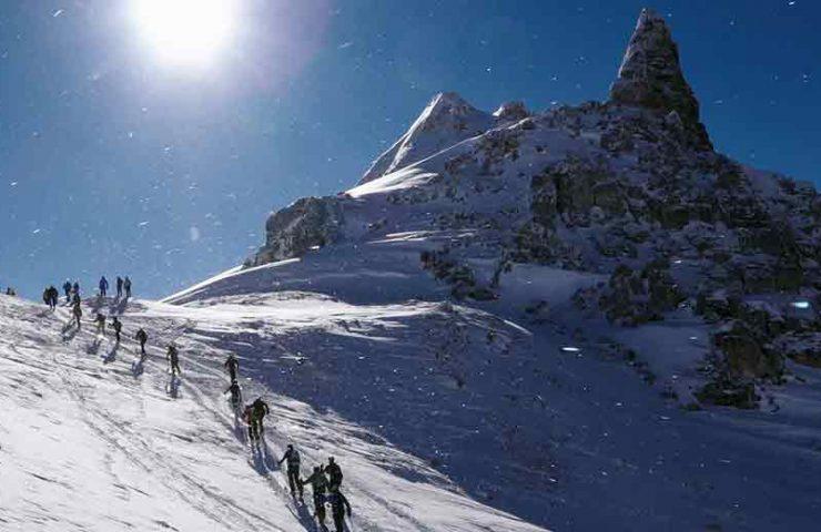 Película sobre la carrera de esquí más dura: Patrouille de Glacier.