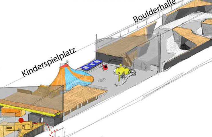 New bouldering hall in Bern opens in February at the Zentweg 1a