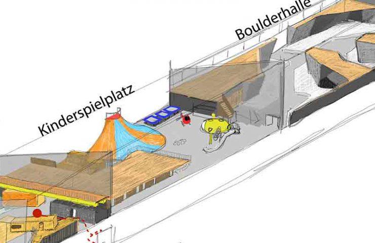 Neue Boulderhalle in Bern eröffnet im Februar am Zentweg 1a