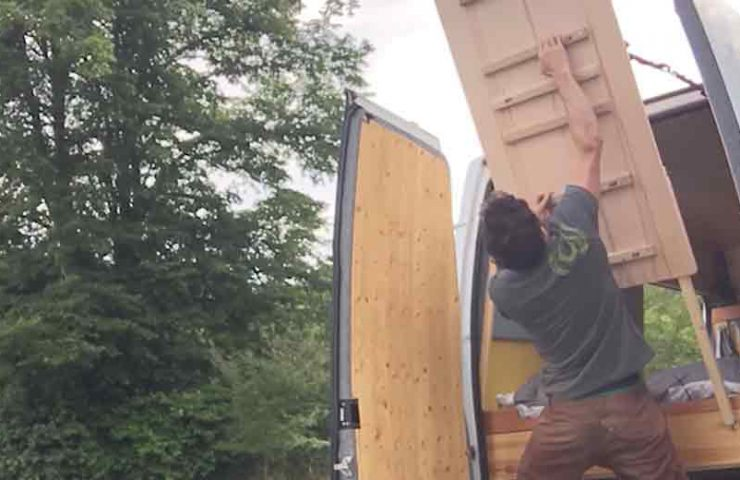 So build a campusboard in your camper