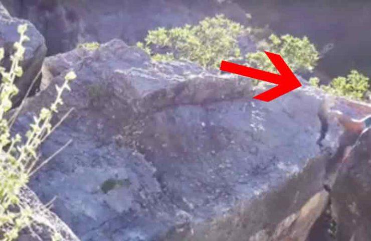 150-Kilogramm-Brocken beim Bouldern gelöst
