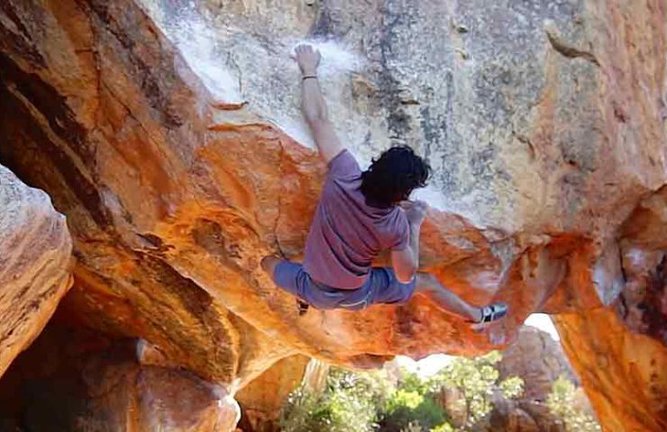 These boulders attracted Mathias Seiler and Co in the Rocklands