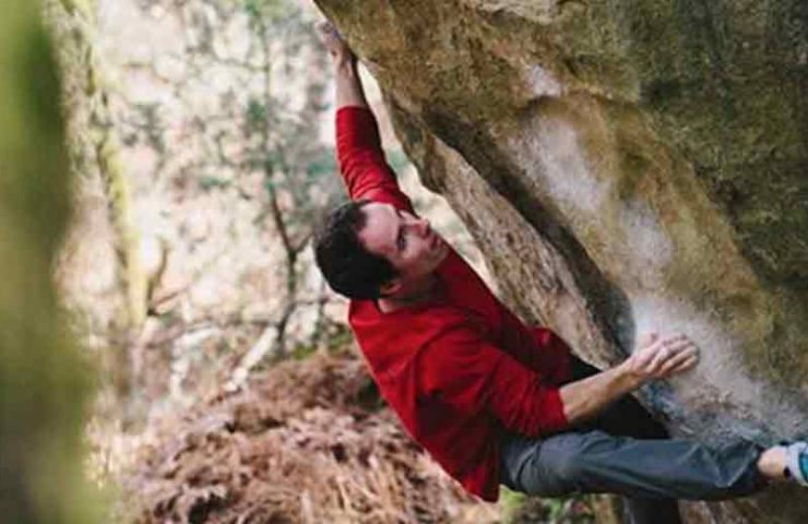 Video about Carlo Traversi's inspection of Gecko (8b +)