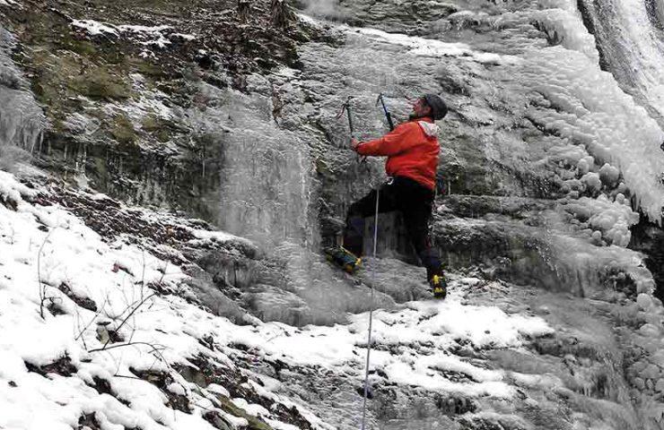Sugerencia del tour: escalada en hielo en Mittelland