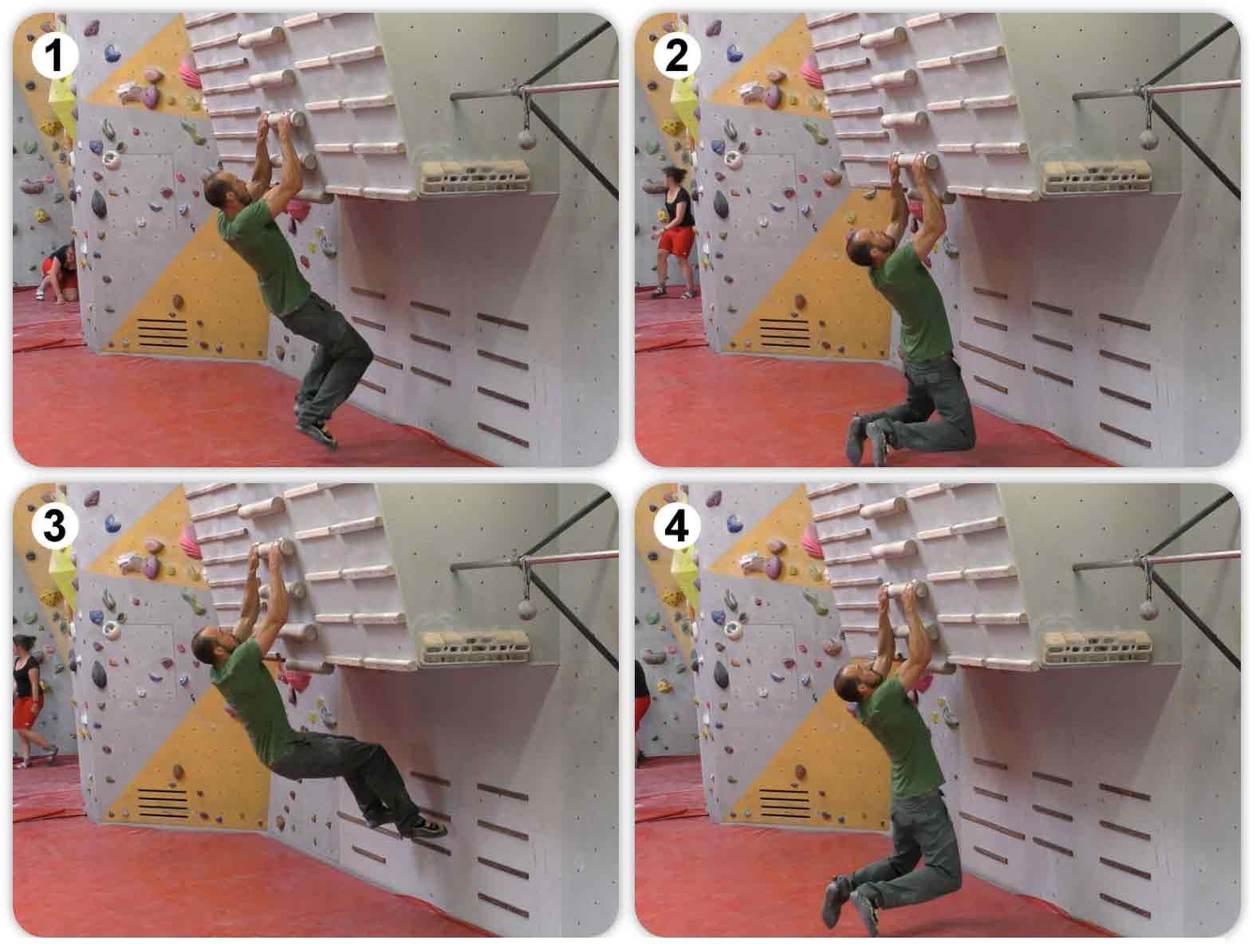 Double Dyno Loaded - Trainingstipp - Klettern
