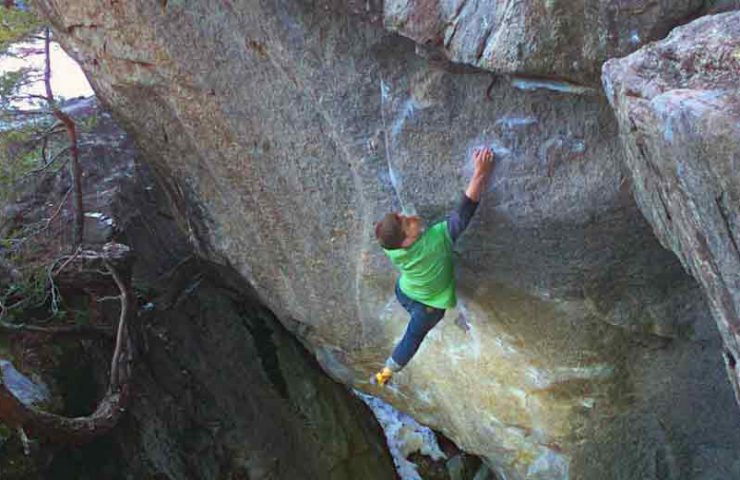 Interview with Martin Keller about the commission of Ninja Skills (8b +)