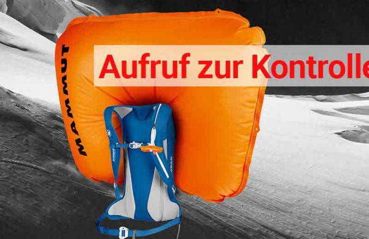 Atractivo de mamut: verifique las mochilas de avalancha de la generación 3.0