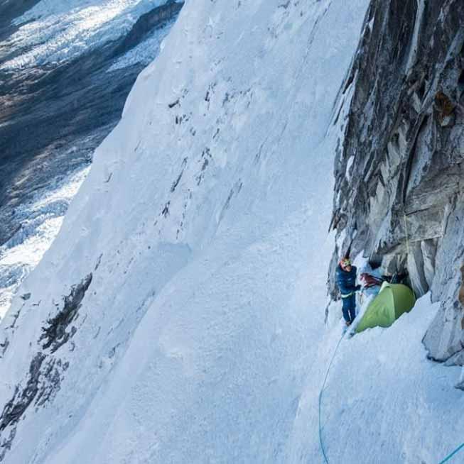 montaña Equipment_Biwak_Schlafsasck