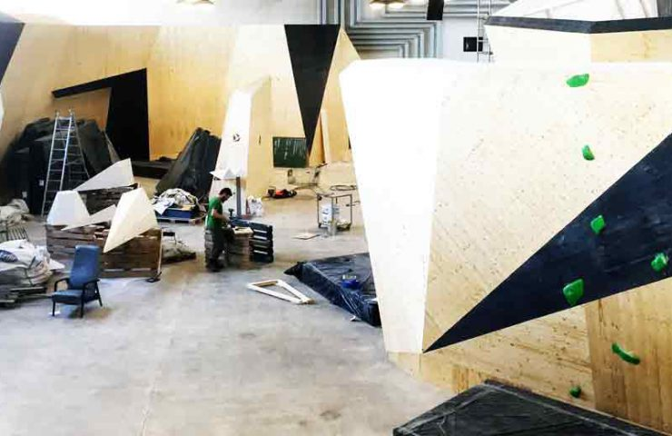 Opening of the new Bouldering Hall bimano in Bern