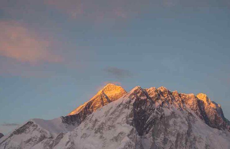 Eindrückliche Aufnahmen des Mount Everest