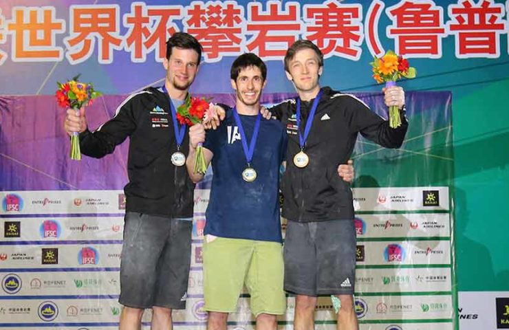 Alex Khazanov gana medalla de oro para Israel en el Mundial de Tai'an