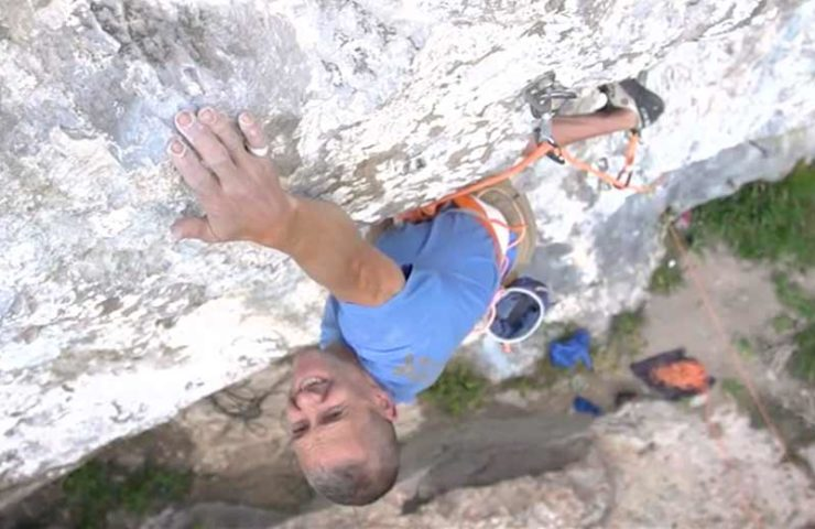 Is 47-year-old Steve McClures climbing an 9a in seven days?