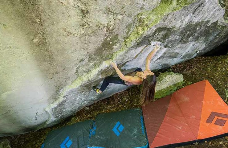 Kathrin (Kaddi) Lehmann is the second woman to boulder an 8c cryptos