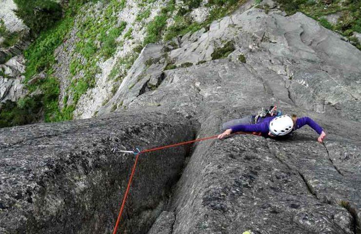 Nuevas rutas de escalada en el Grimsel Handegg.
