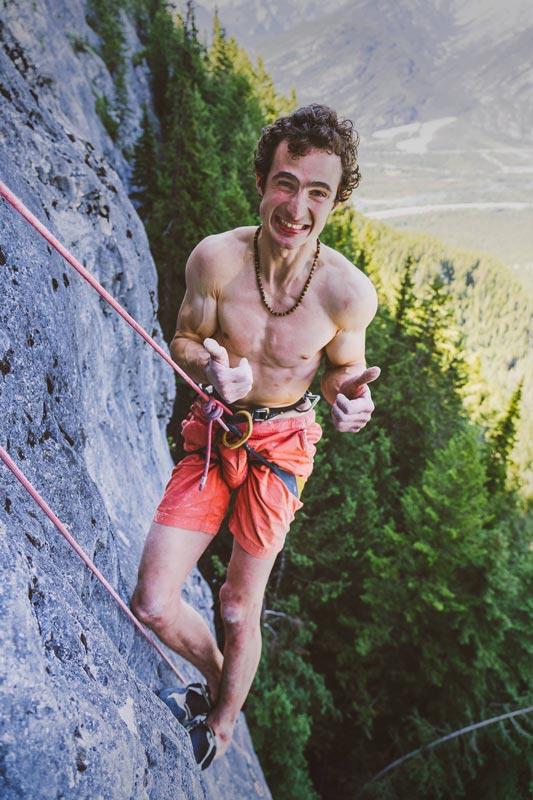 Adam Ondra - Die Freude über die Onsight-Begehung von First Flight ist gross