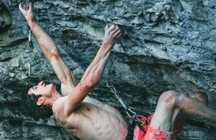 That's why you get pumped forearms while climbing