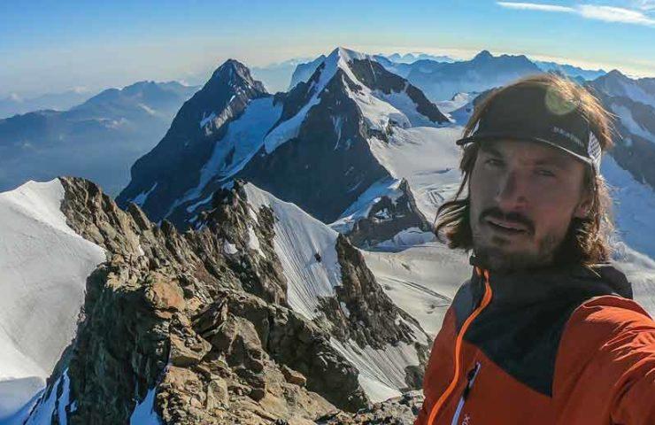 Mario Heller cruza a Eiger, Mönch y Jungfrau en un nuevo tiempo récord