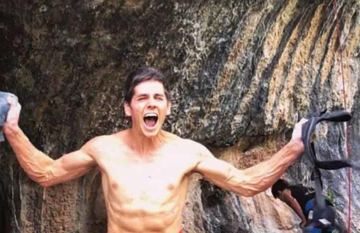 Piotr Schab gelingt 8c (Baby Boy) Erstbegehung onsight - und mehr