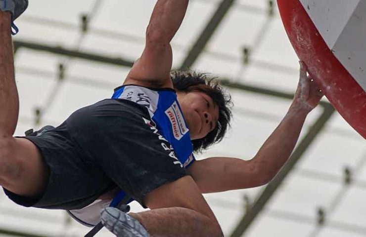 Slovenia clears medals at the Boulderworld Cup in Munich