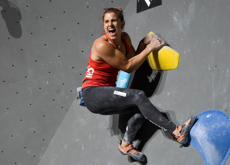 Die Disziplin Bouldern im kombinierten Format - Olympic Combined (Bild Expa Pictures).