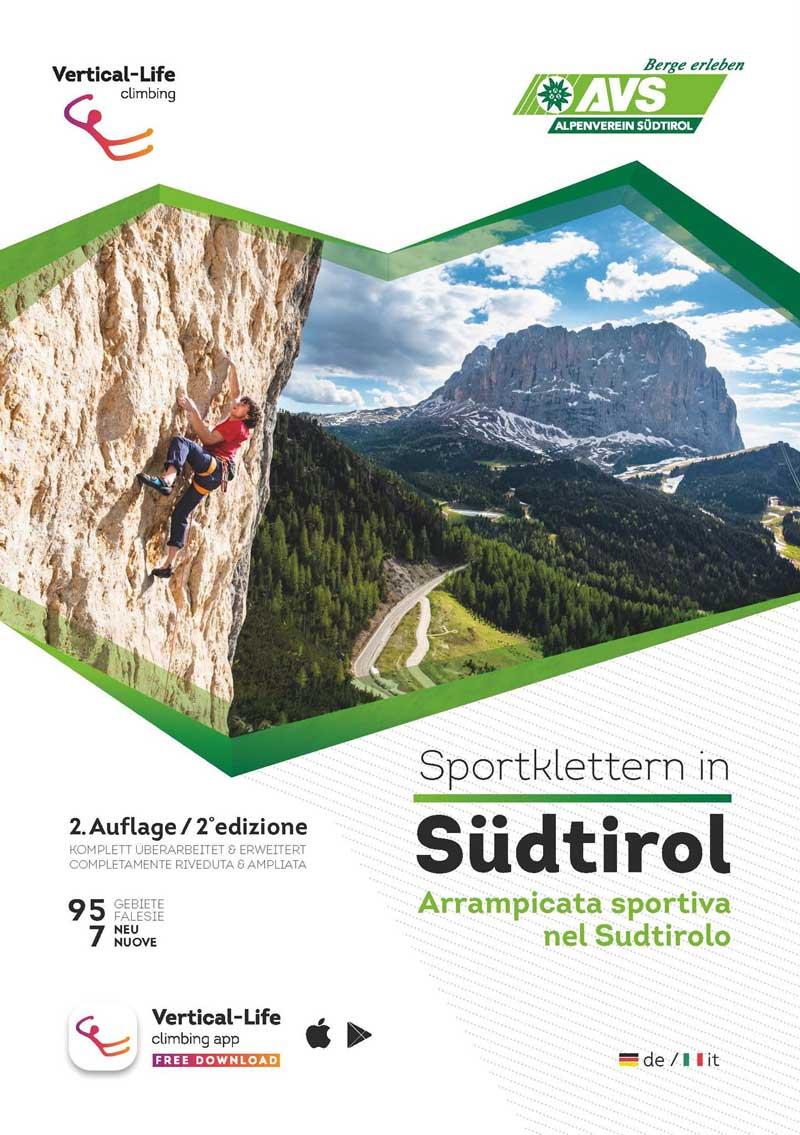 Neuer Kletterführer für das Südtirol erhältlich