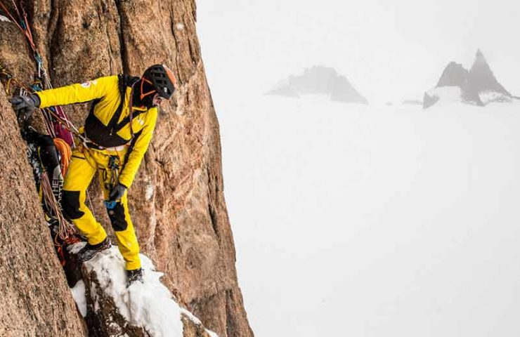 Film about Alex Honnold, Conrad Anker and co in nasty Queen Maud Island