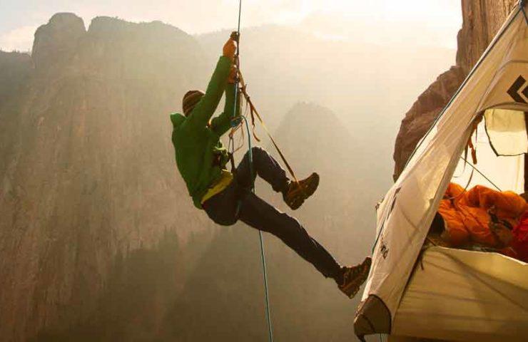 Premiere des Kletterfilms The Dawn Wall im Verkehrshaus Luzern