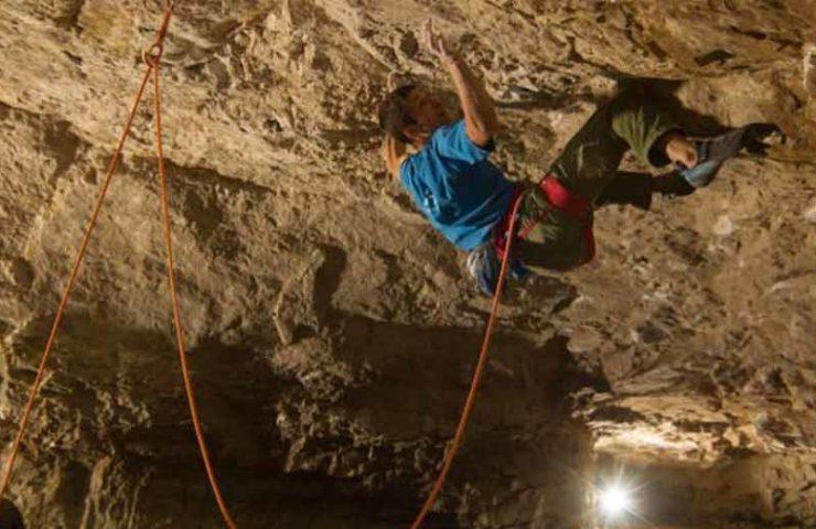 David Firnenburg: Second ascent of the Fred Nicole route L'isola che non c'è (9a)