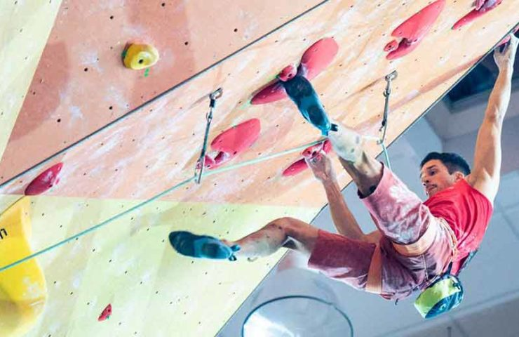 Frederike Fell and David Firnenburg win the German championship in lead climbing