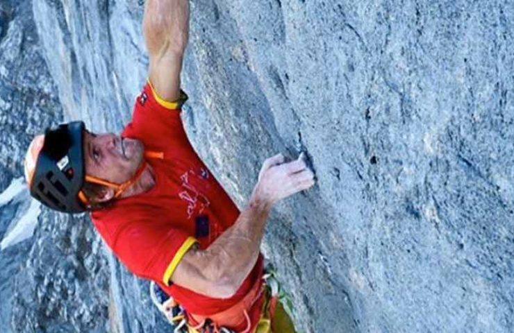Roger Schäli opens new heavy climbing route Airplane Mode on the Eiger North Face
