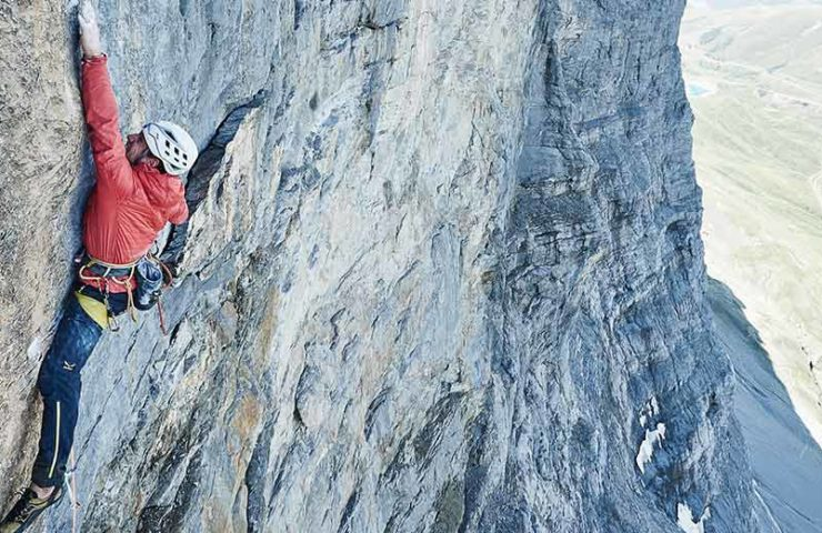 Roger Schäli publishes magazine Passion Eiger with numerous topos